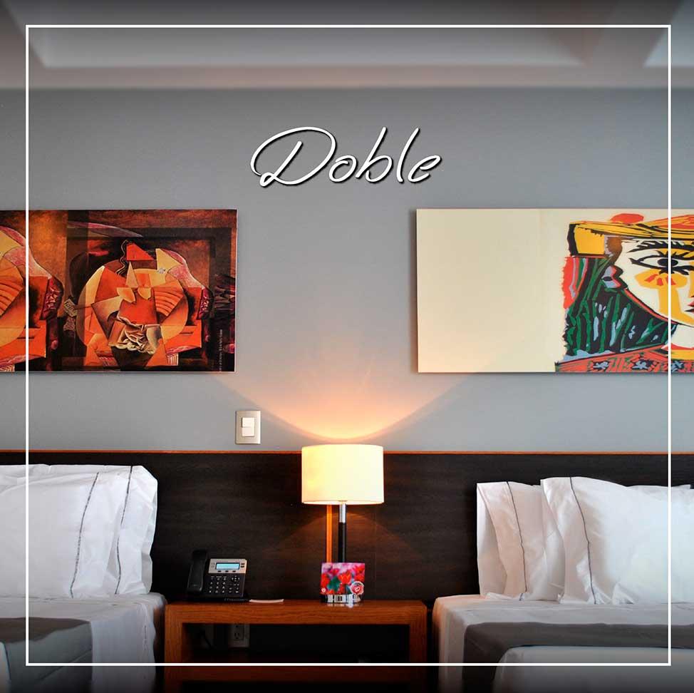 Habitaciones-Doble